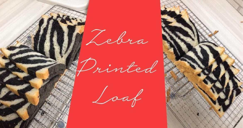 Zebra Printed Loaf