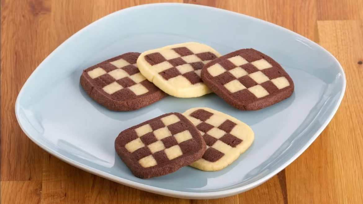 Anna Bakes AMAZING Checkerboard Cookies