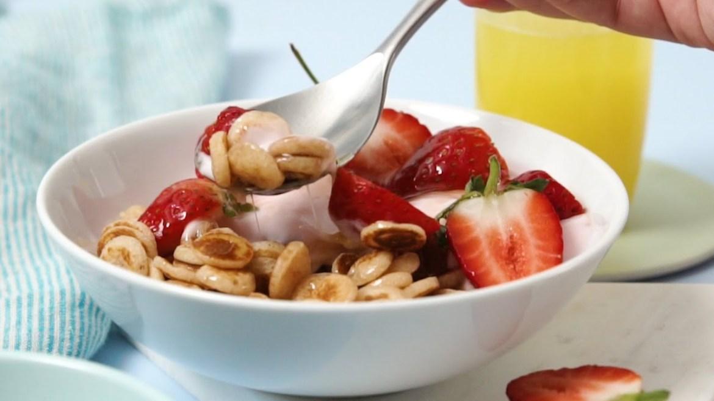 3 Ingredient Flapjack Cereal