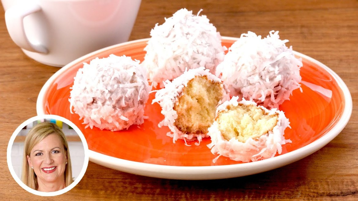 Coconut Donut Holes Made by Anna Olson