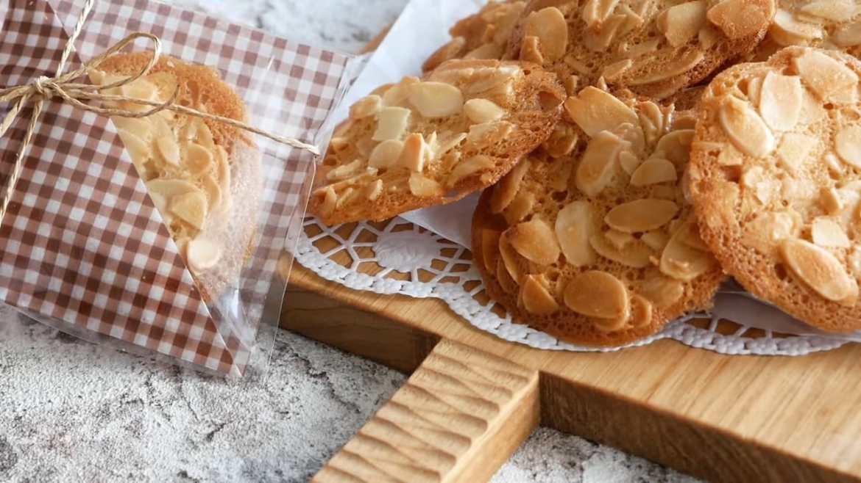 Crispy Almond tuile