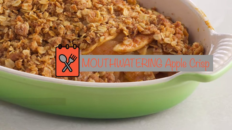 MOUTHWATERING Apple Crisp