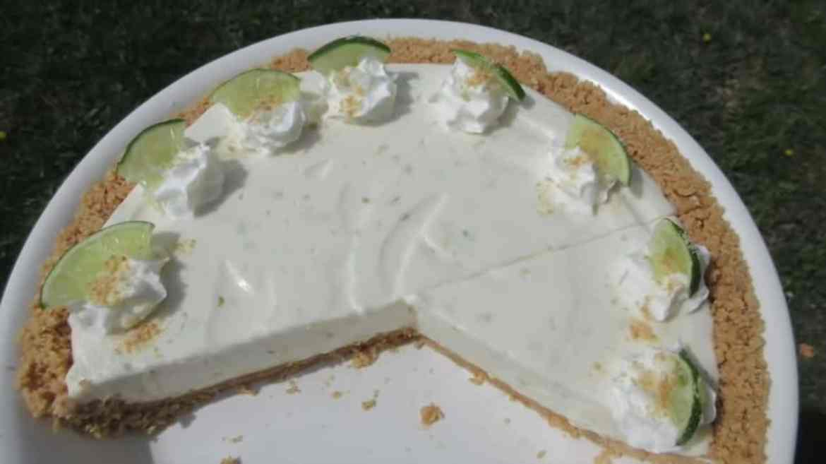 KEY LIME PIE in 15 minutes - No-Bake Recipe
