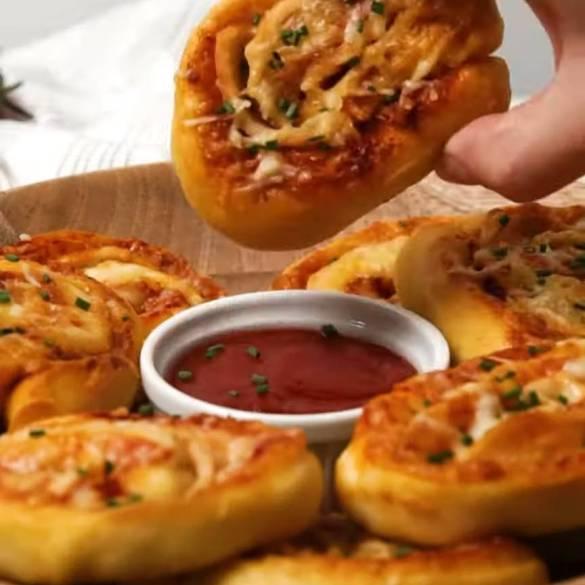 Polony-Pizza-Pinwheels