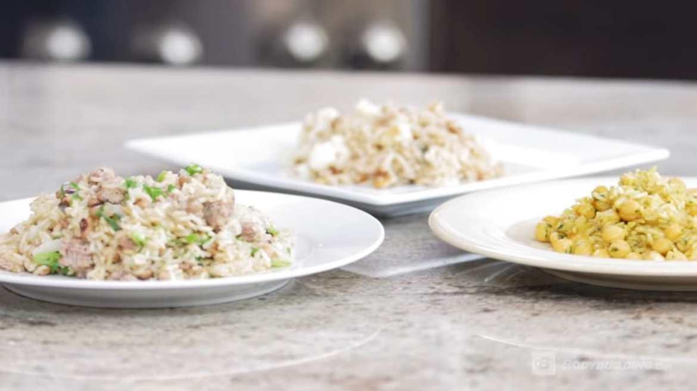Healthy Rice Recipes (3ways)