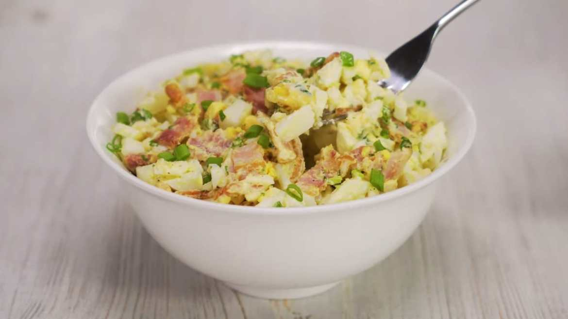 Egg Salad With Bacon in 20 Min   Best Sandwich Filling