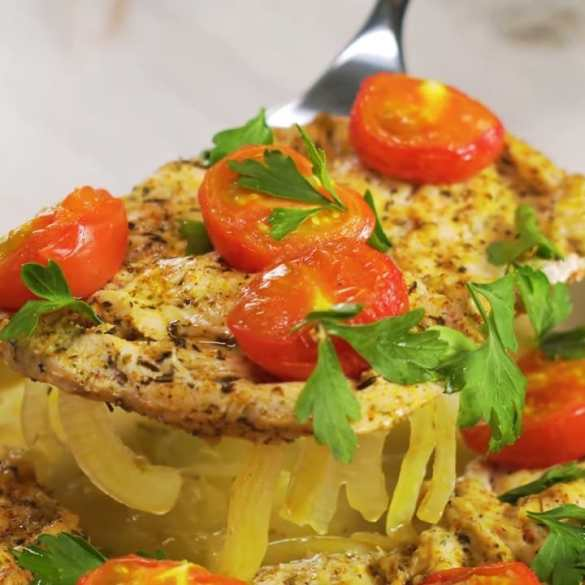 Simple & Easy Oven Baked Chicken Breast