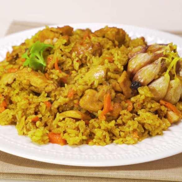 ONE POT Chicken & Rice Pilaf / Pilau