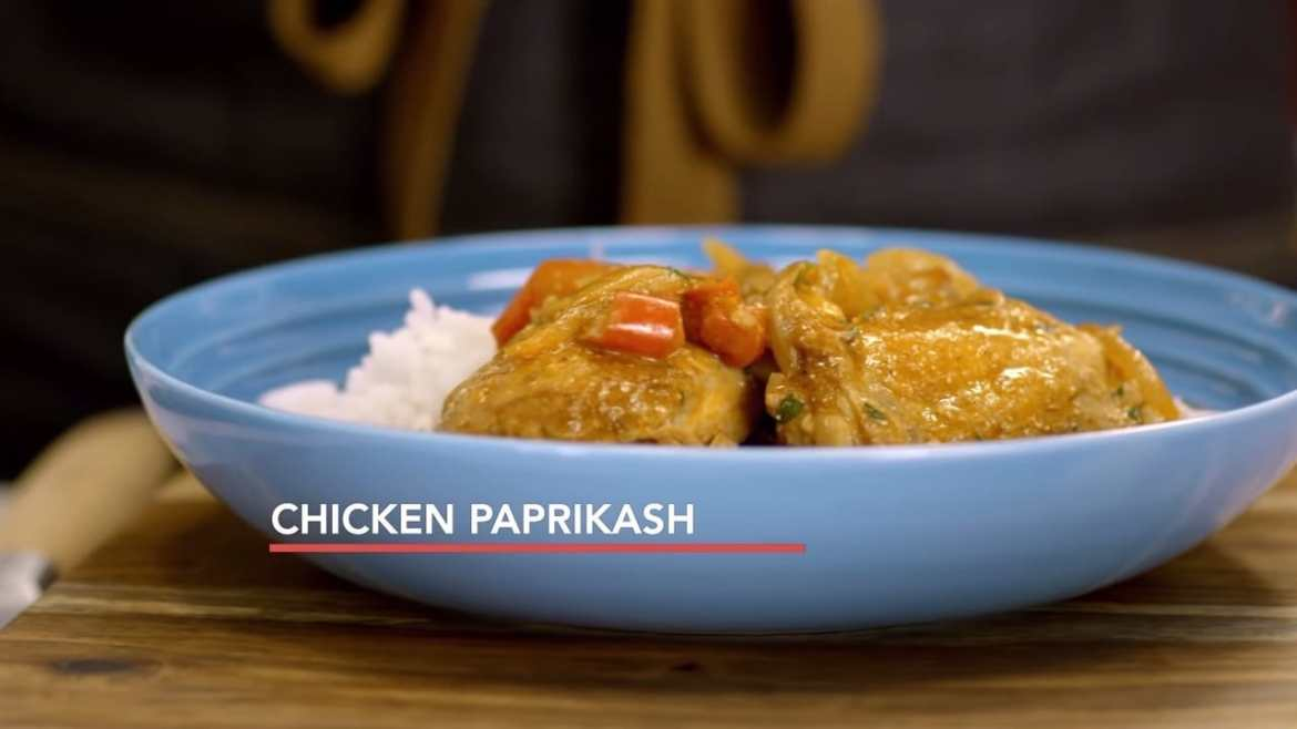 Chicken Paprikash Recipe, Inspired by Singapore