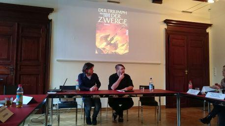 Markus Heitz beantwortet fleißig Fragen