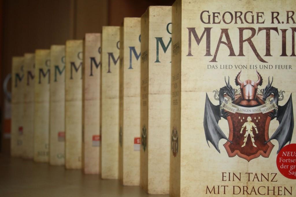 """Das Lied von Eis und Feuer von George R. R. Martin - Vorlage für """"Game of Thrones"""""""
