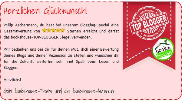 Bookshouse Topblogger Award Fazit