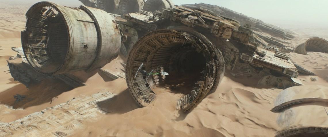 STAR WARS: DAS ERWACHEN DER MACHT Star Wars: The Force Awakens..Ph: Film Frame..©Lucasfilm 2015 ©Lucasfilm 2015