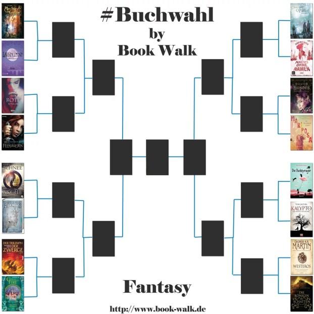 Buchwahl-Challenge: Fantasy Runde 1