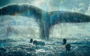 """A scene from Warner Bros. Pictures' and Village Roadshow Pictures' action adventure """"IN THE HEART OF THE SEA,"""" distributed worldwide by Warner Bros. Pictures and in select territories by Village Roadshow Pictures. © 2015 WARNER BROS. ENTERTAINMENT INC. AND RATPAC-DUNE ENTERTAINMENT LLC ALL RIGHTS RESERVED"""