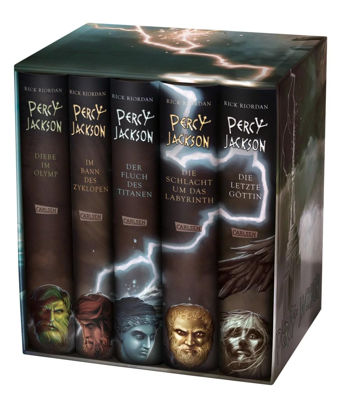 Percy Jackson: Percy-Jackson-Schuber - inkl. E-Book Kane-Chroniken Bd. 1