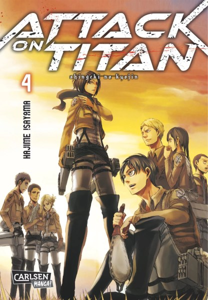Attack on Titan, Band 4 von Hajime Isayama