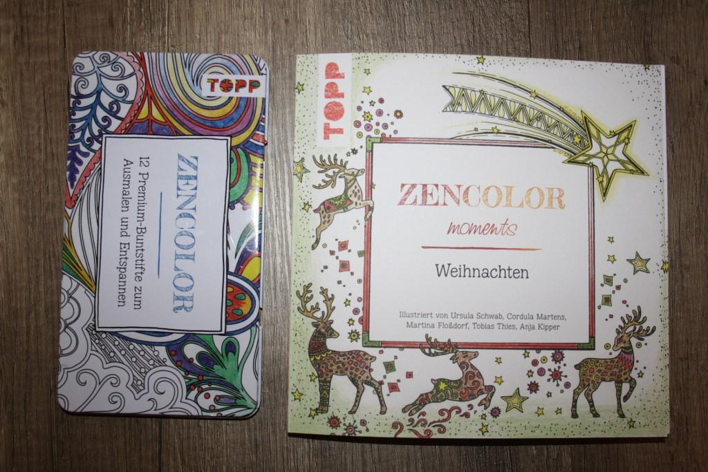 Zencolor moments Weihnachten - Dieses oder ein ähnliches Paket könnt ihr gewinnen