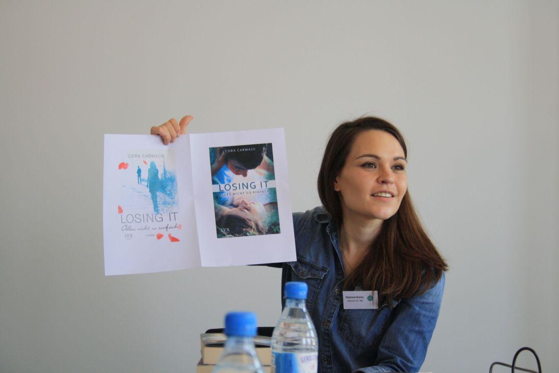 Die Entstehung eines Buchcovers - Losing it, erschienen im Lyx Verlag, vorgestellt von der Lektorin Stephanie Bubley
