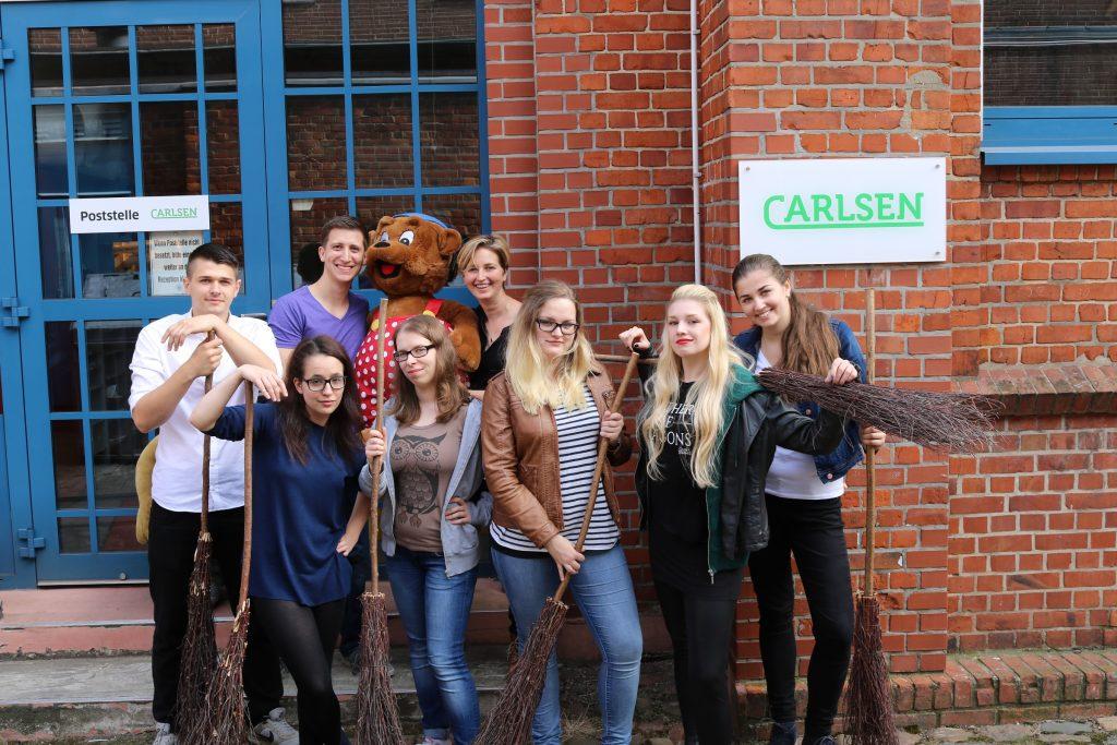 Quidditch Gangster Squad beim Carlsen Verlag