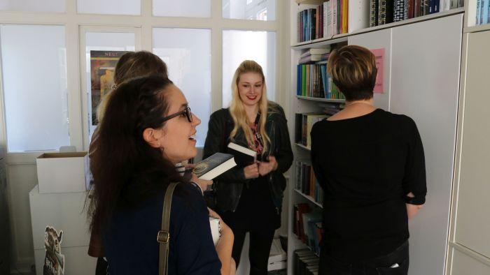 Wir durften uns jeder noch ein Buch aus dem aktuellen Verlagsprogramm aussuchen - Danke Carlsen! ♥