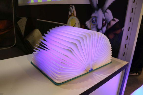 Eine wunderschöne Buch-Lampe