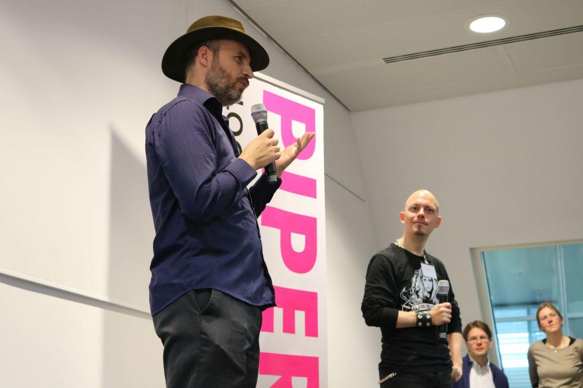 Piper Verlag Bloggertreffen 2016 mit Dan Wells