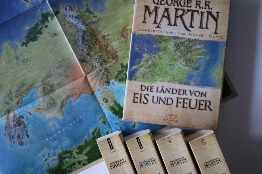 Die Länder von Eis und Feuer von George R.R. Martin