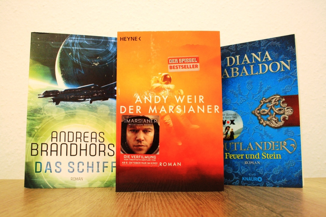Meine Leseliste 2016 - Science Fiction und Historischer Roman