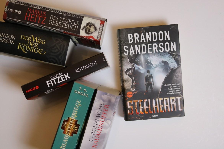 Eine Auswahl der Bücher, welche ich mir auf der Leipziger Buchmesse 2017 signieren lassen möchte