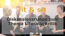 lit & sit - Diskusssionsrunde zum Thema Literaturkritik