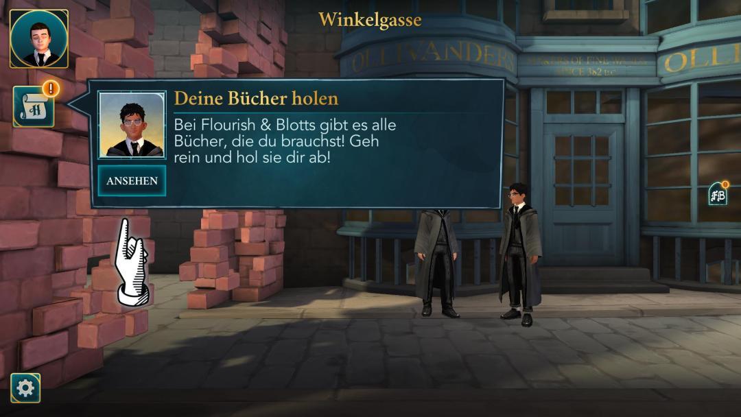 Harry Potter: Hogwarts Mystery. Ingame Screenshot