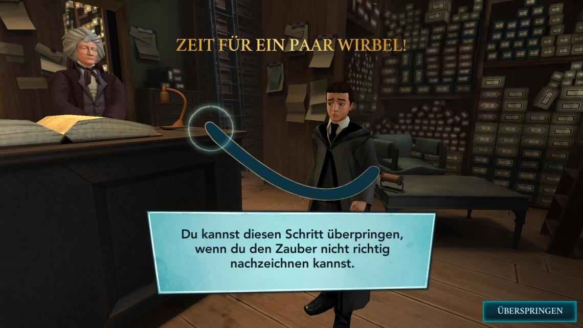 Harry Potter: Hogwarts Mystery. Ingame Screenshot