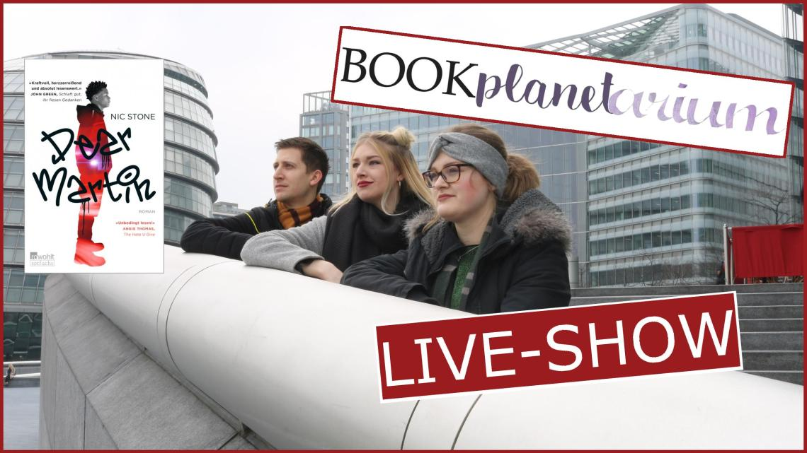 """Bookplanetarium Live-Show zu """"Dear Martin"""" von Nic Stone"""