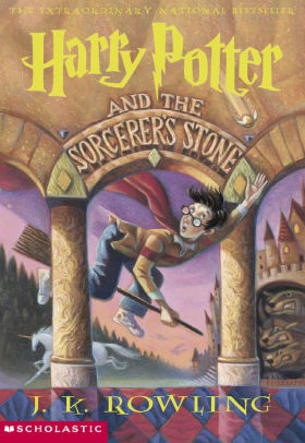 Harry Potter and the Sorcerer's Stone (1998). (c) Scholastic