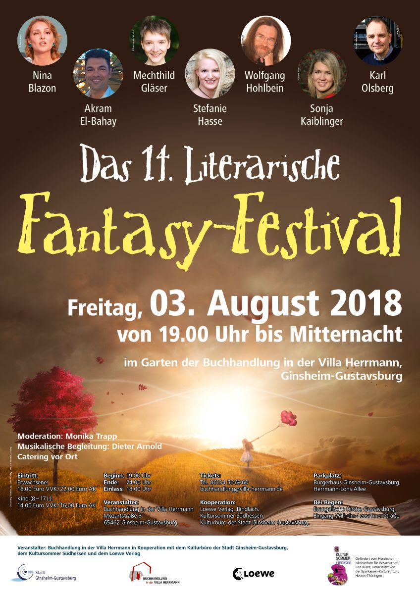 14. Literarische Fantasy-Festival. (c) Buchhandlung in der Villa Herrmann