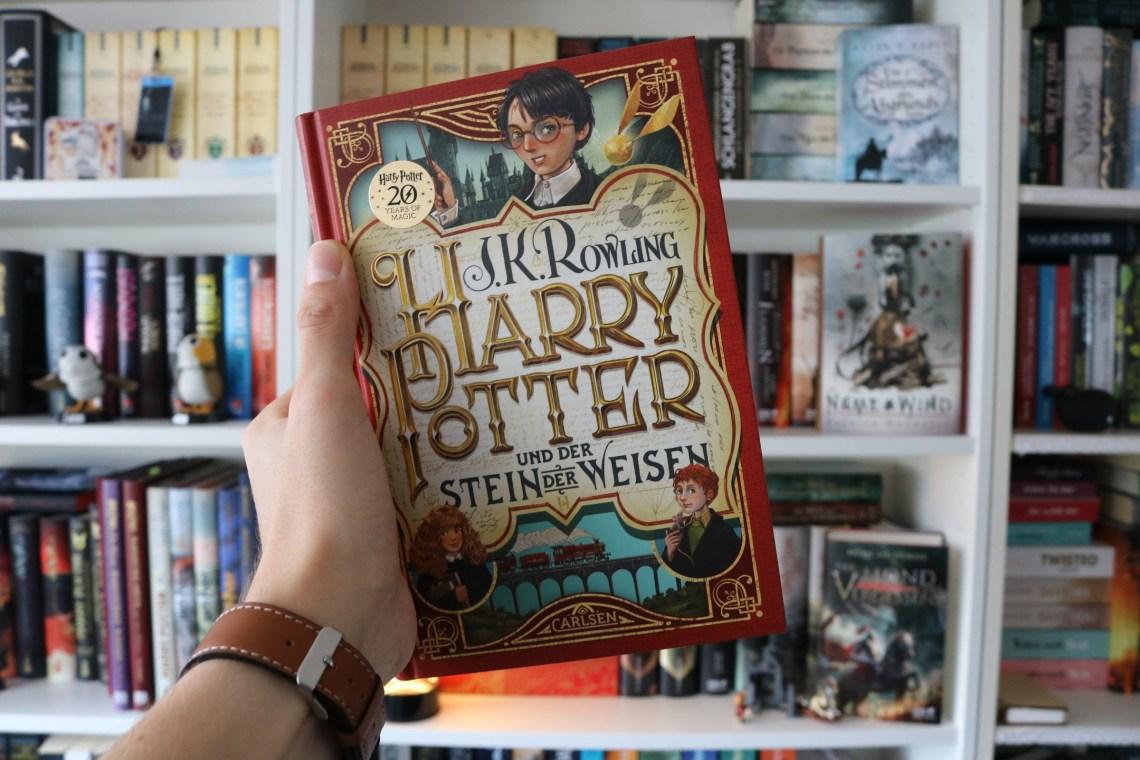 Harry Potter und der Stein der Weisen in der neuen Jubiläumsausgabe