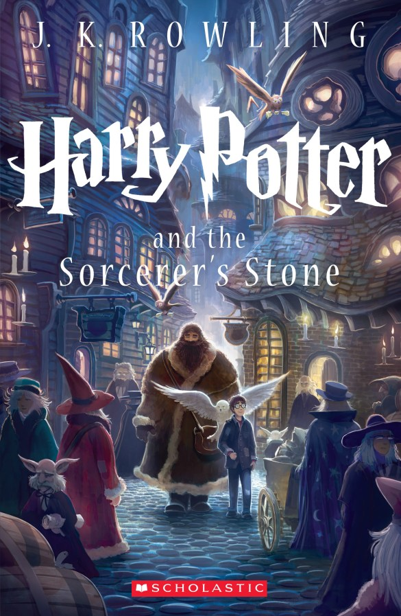 US: Harry Potter and the Sorcerer's Stone (2013). (c) Scholastic