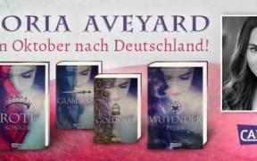 Victoria Aveyard in Deutschland. (c) Carlsen Verlag