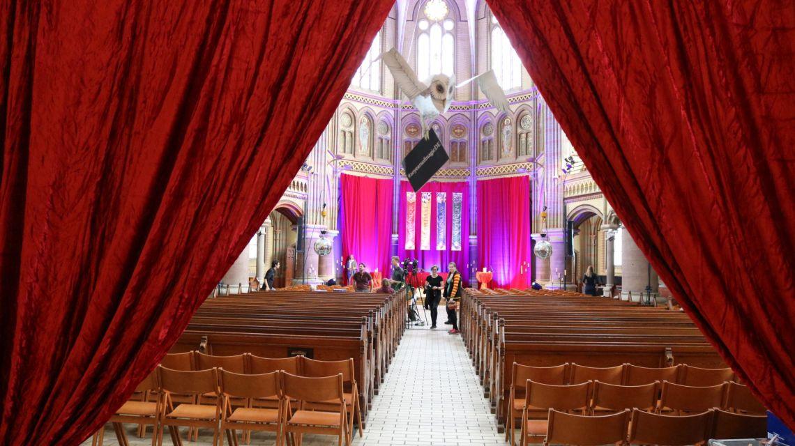 Die Kulturkirche Altona wird für eine Nacht zu Hogwarts
