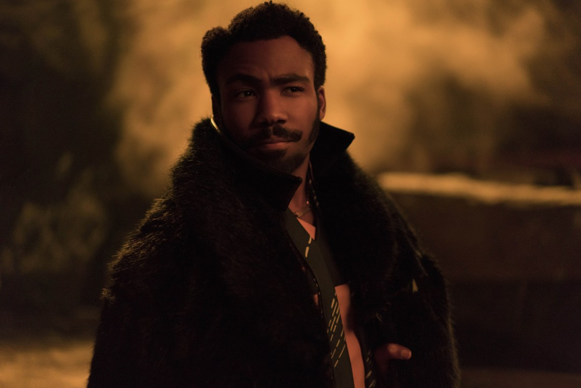 Donald Glover is Lando Calrissian in SOLO: A STAR WARS STORY. Copyright: 2017 Lucasfilm Ltd., All Rights Reserved.