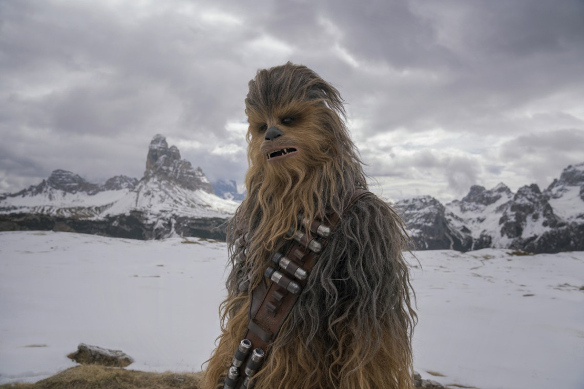 Joonas Suotamo is Chewbacca in SOLO: A STAR WARS STORY. Copyright: 2018 Lucasfilm Ltd., All Rights Reserved.