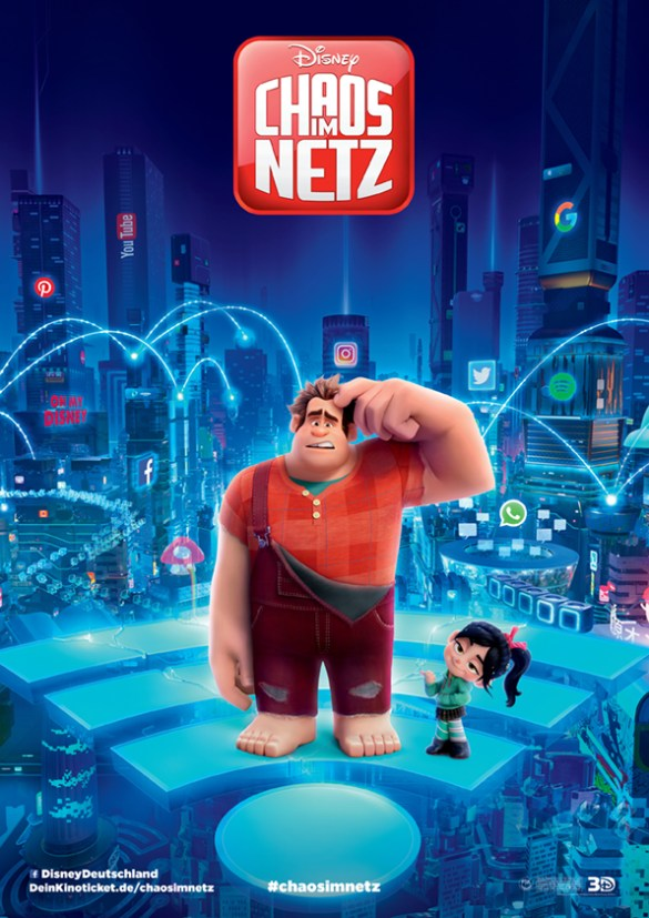 Filmposter zu Ralph reichts 2: Chaos im Netz