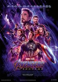 Filmposter Avengers: Endgame. ©Marvel Studios 2019