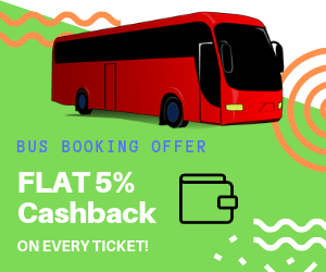 Bus booking-offers