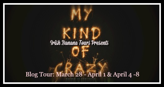 My Kind of Crazy Blog Tour - A Book and a Latte