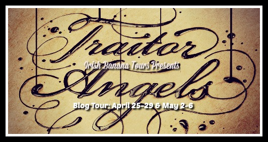 Traitor Angels Blog Tour | How I Write at A Book and a Latte
