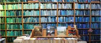 Boekenkast blauw Book Barista