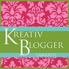 Kreative Blogger and Versatile Blogger Awards (1/2)