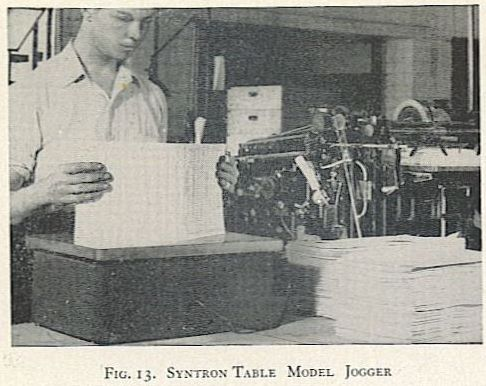 SYSTRON TABLE MODEL JOGGER